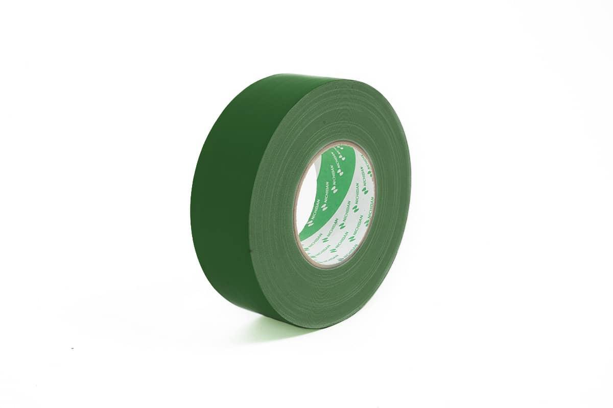 Nichiban® 1200 gaffa tape donkergroen - 50mm x 50m