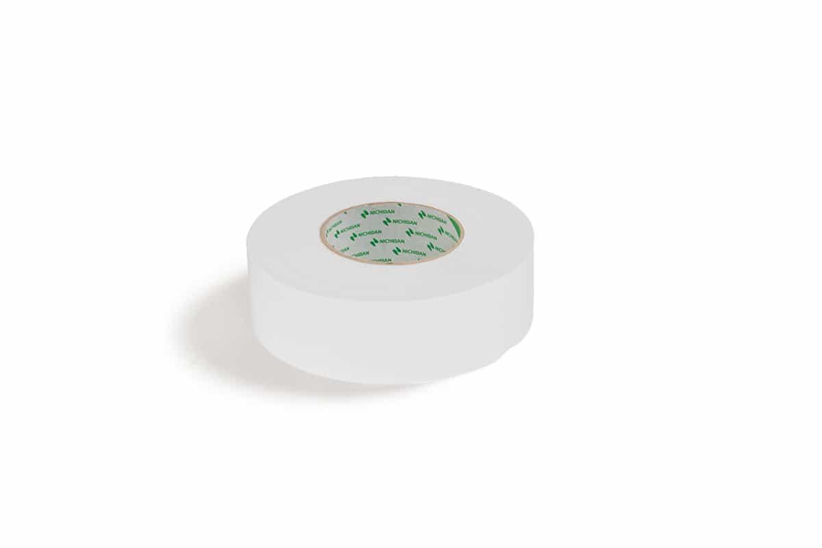 Nichiban® 1200 gaffa tape wit - 38mm x 25m