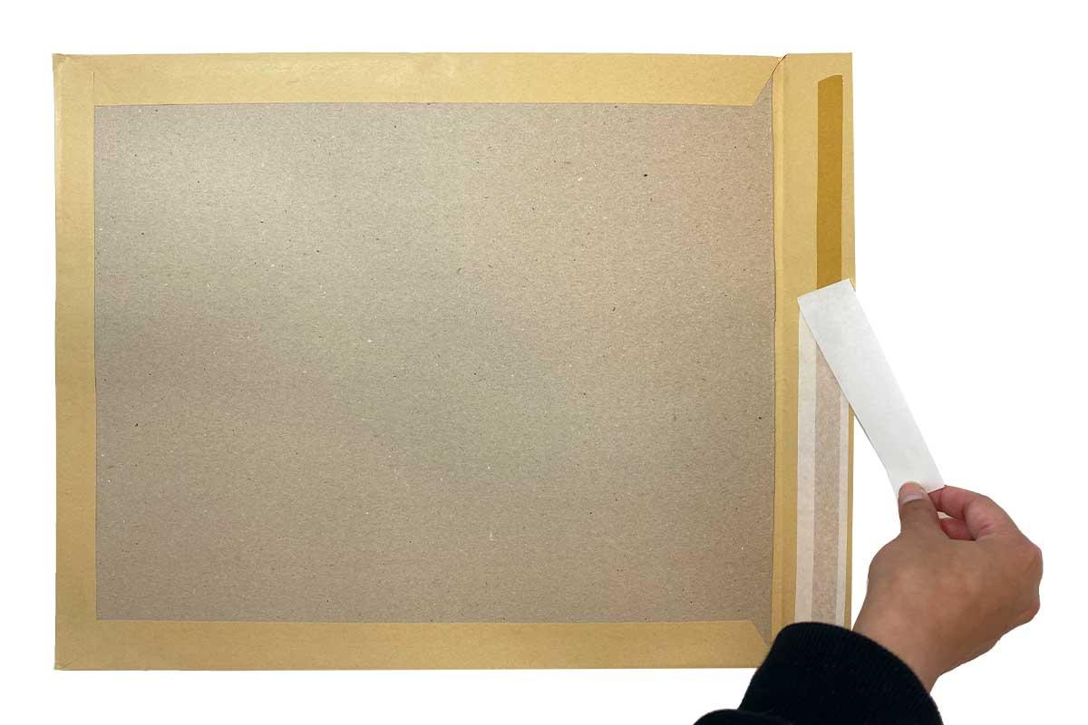 Bordrug enveloppen bruin - 380 x 450mm - (100 st)