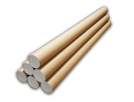 Ronde verzendkoker - 1230mm x ⌀ 80mm (10 st)
