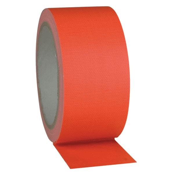 Fluor Gaffa tape oranje - 50mm x 25m