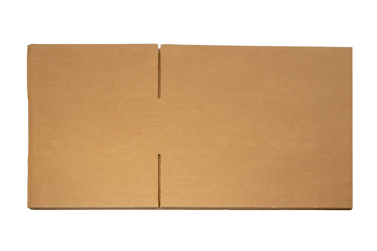 Kartonnen doos - 500 x 350 x 150mm (dubbele golf)
