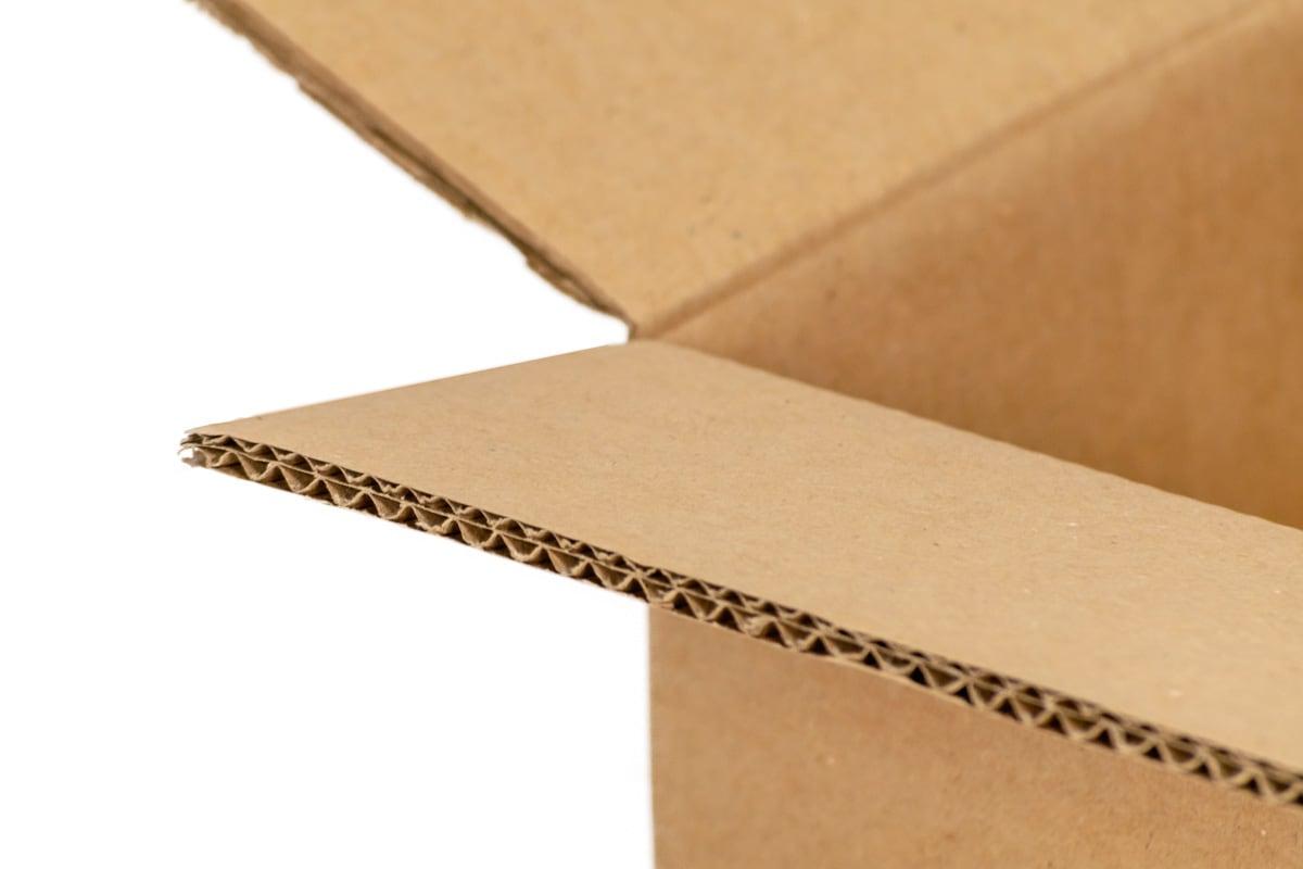 Gebruikte kartonnen doos - 380 x 280 x 270mm (dubbele golf)