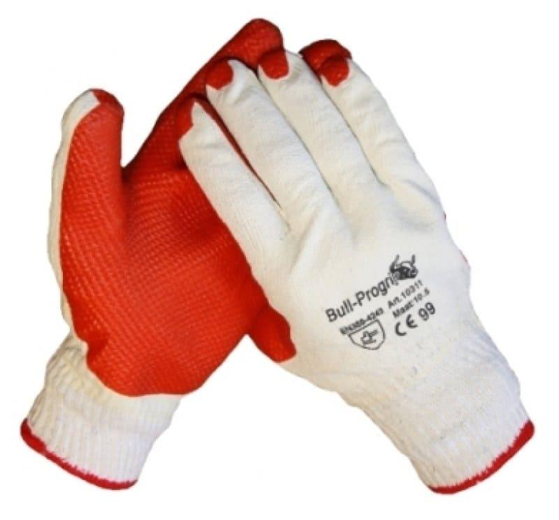 Bull Progrip oranje Werkhandschoenen - 120 paar