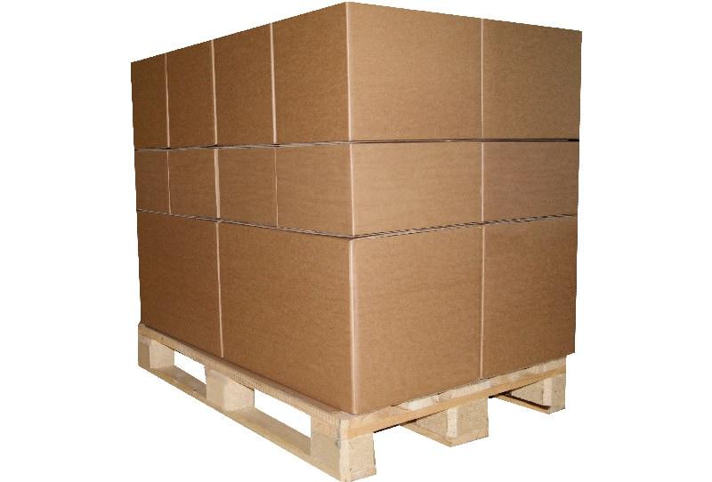 Kartonnen palletplaten BLOK - 95 x 115cm x 3mm