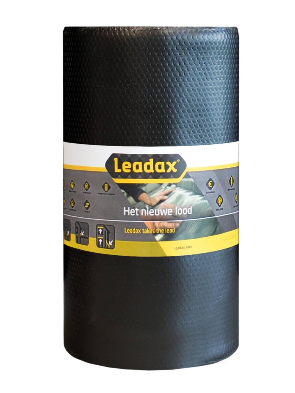 Leadax loodvervanger zwart - 200mm (1,20m²)