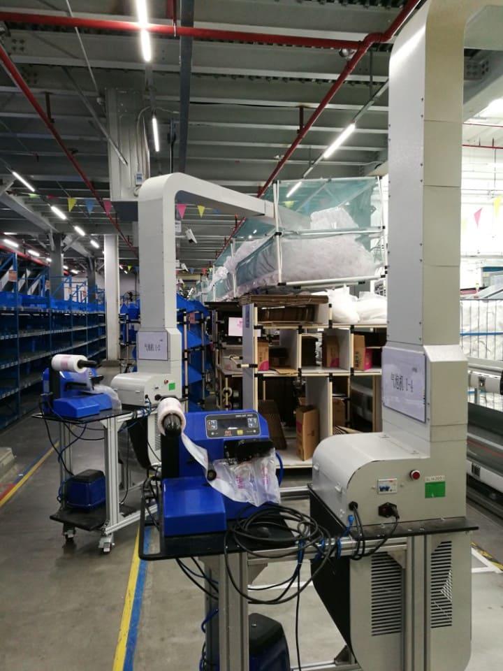 PP-air luchtzakjes machine PROFI