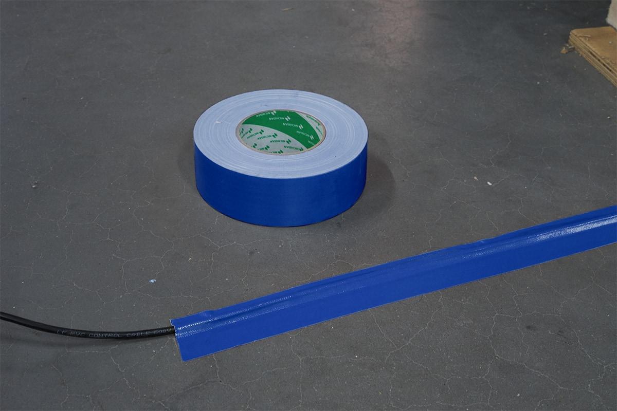 Nichiban® 1200 gaffa tape blauw - 75mm x 50m