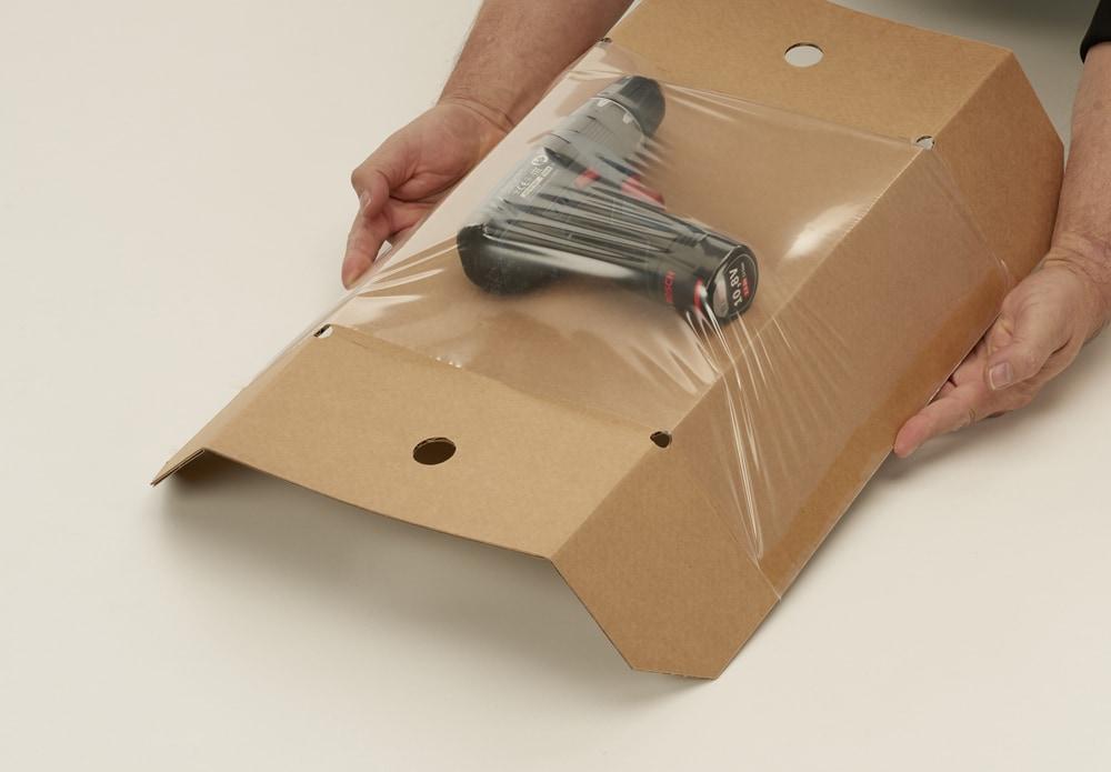 Speedbox retour dozen + fixeertray - 310 x 230 x 110mm (20 st)