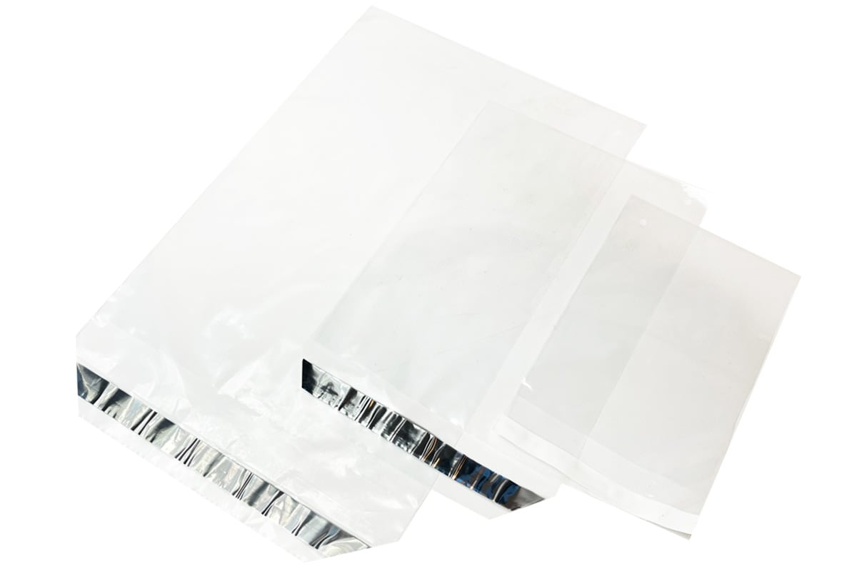 Enveloppen transparant - 245 x 350 + 50mm (1.000 st)