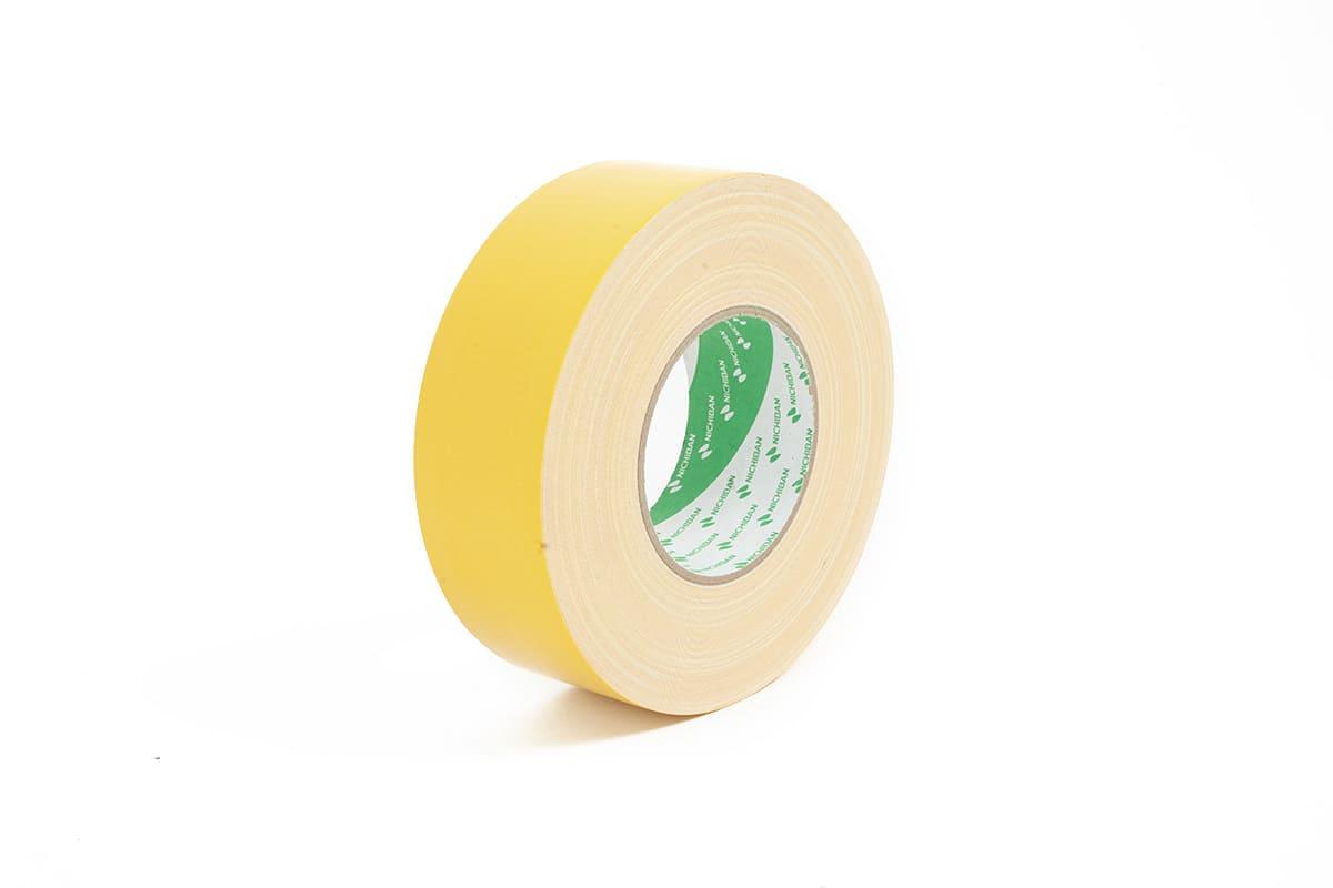 Nichiban® 1200 gaffa tape geel - 50mm x 50m