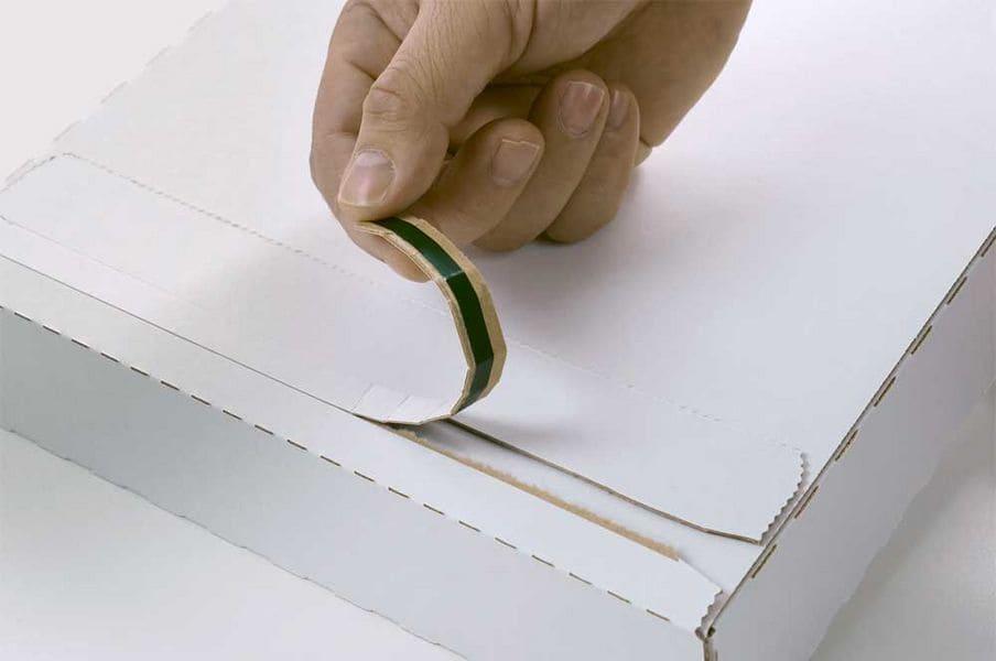 A4+ brievenbusdozen wit - 345 x 245 x 15mm (100 st)