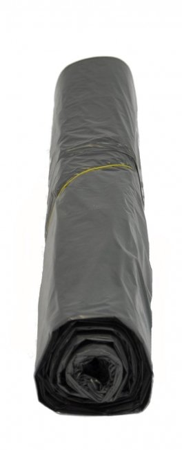 HDPE afvalzakken zwart - 63 x 70cm x 12my