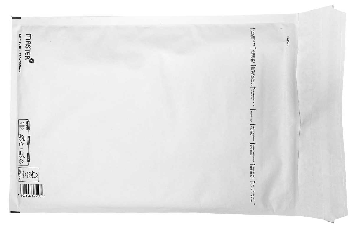Luchtkussen enveloppen I19 - 300 x 440mm (50 st)