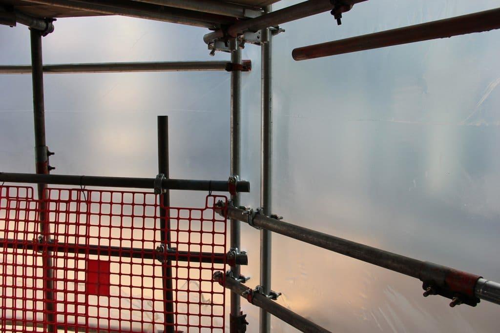 Krimpfolie transparant (steiger) - 300cm x 50m x 200my