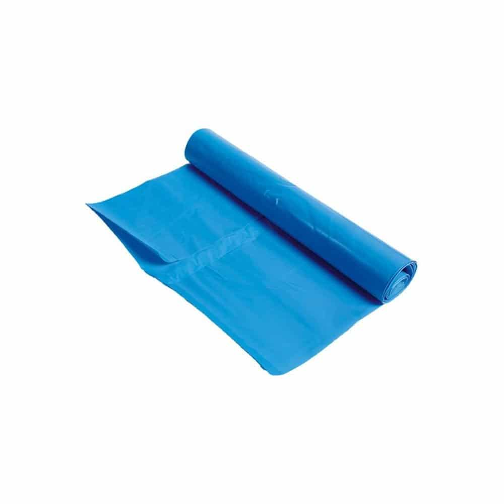 LDPE afvalzakken blauw - 70 x 110cm x 70my