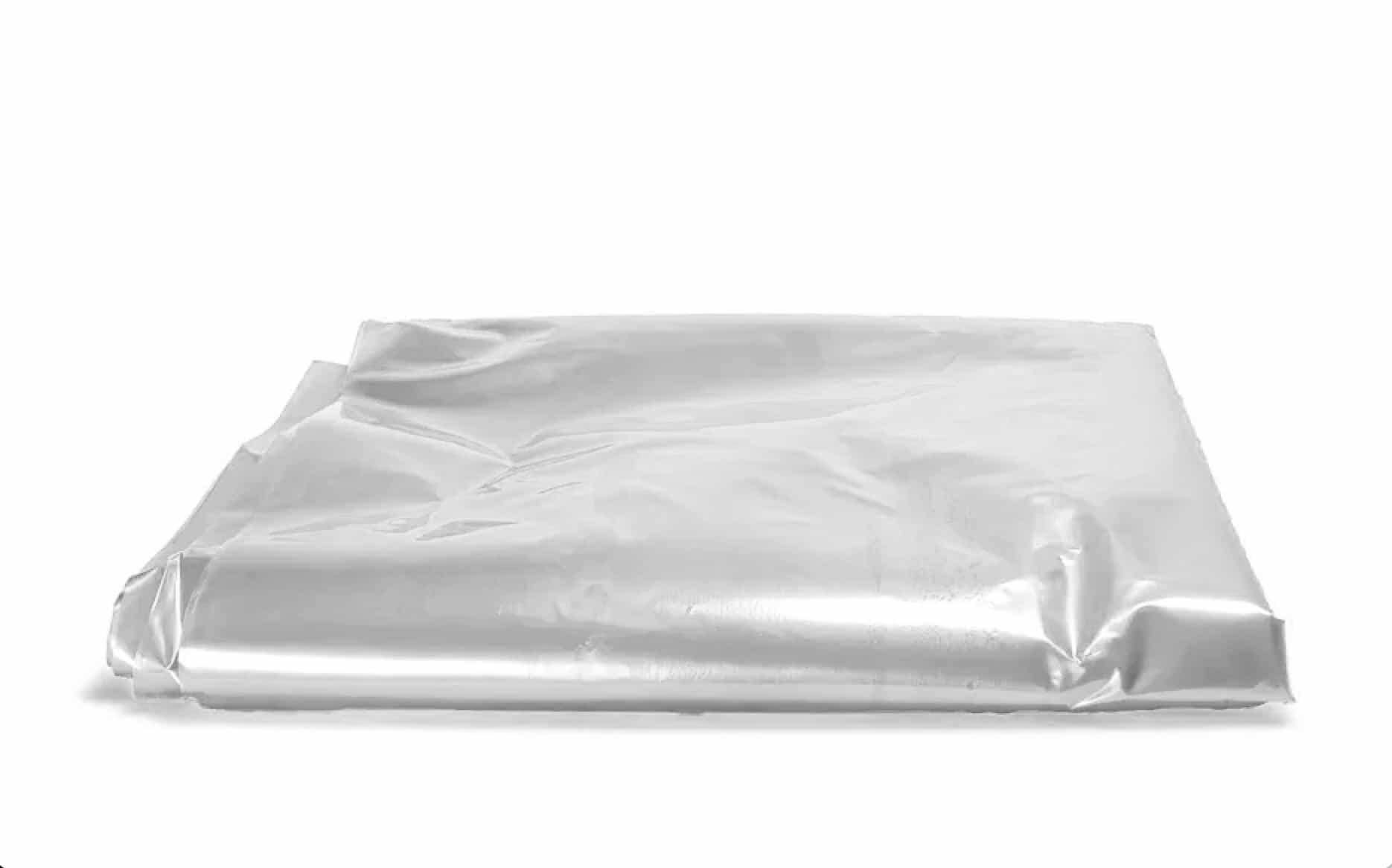 Plastic matrashoes transparant 1 persoons - 2300 x 1000 x 220mm