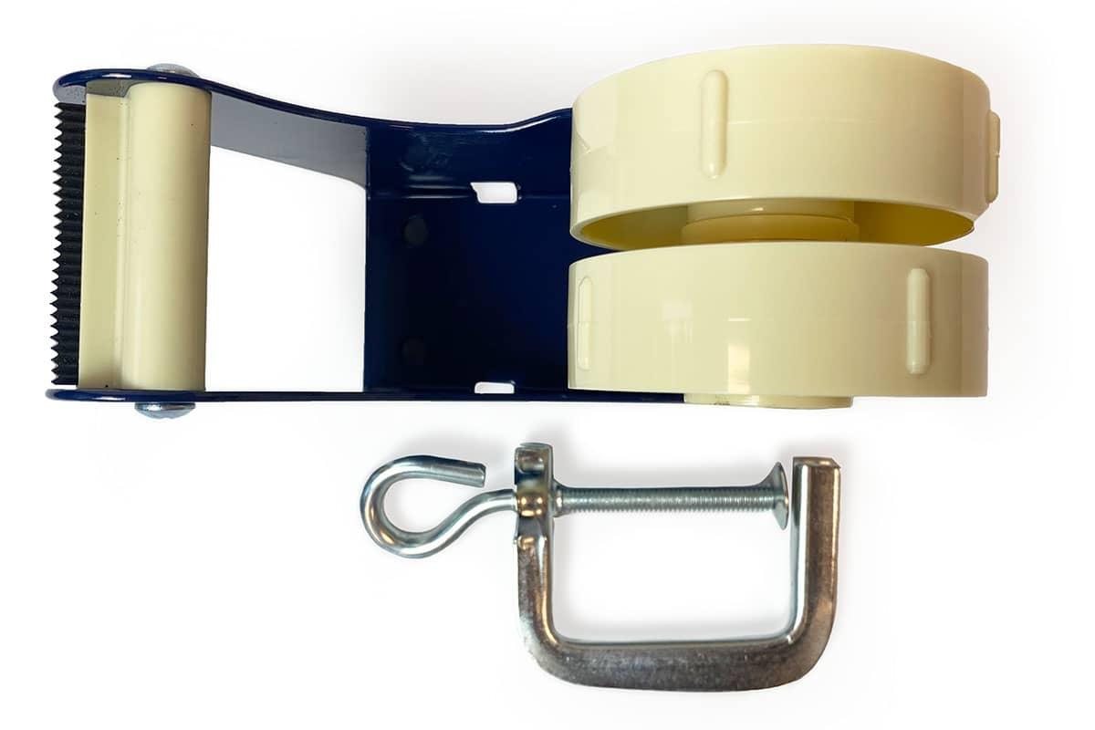 Tape dispenser tafelmodel met klem