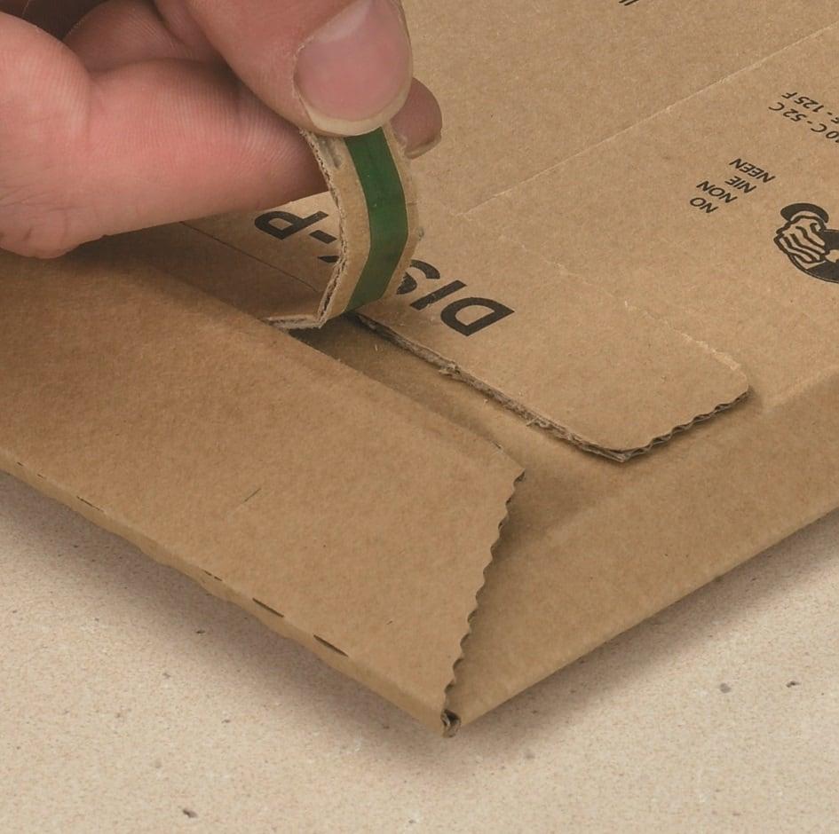 Kartonnen enveloppen Premium - 235 x 337 x 0-35mm (100 st)