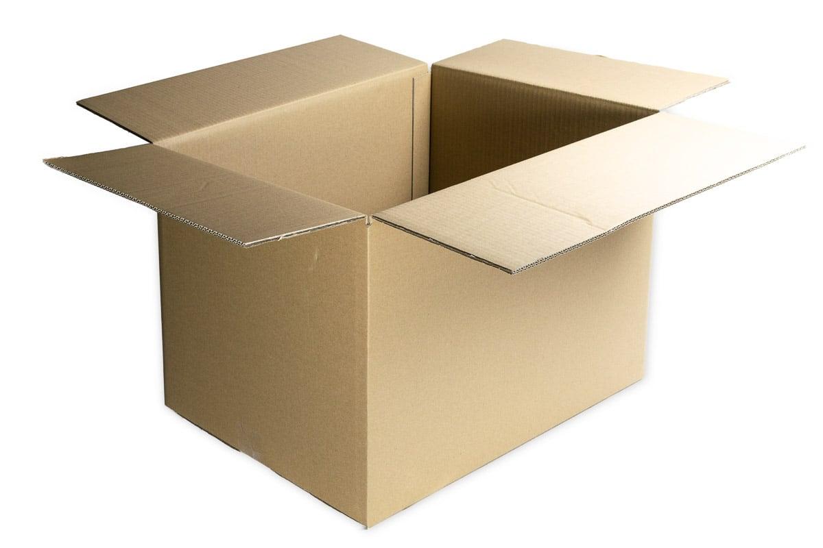 Kartonnen doos - 588 x 488 x 377mm (dubbele golf)