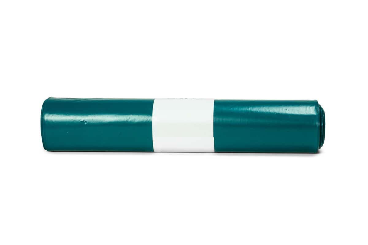 LDPE afvalzakken blauw 110 liter - 90 x 110cm x 70my (100 st)