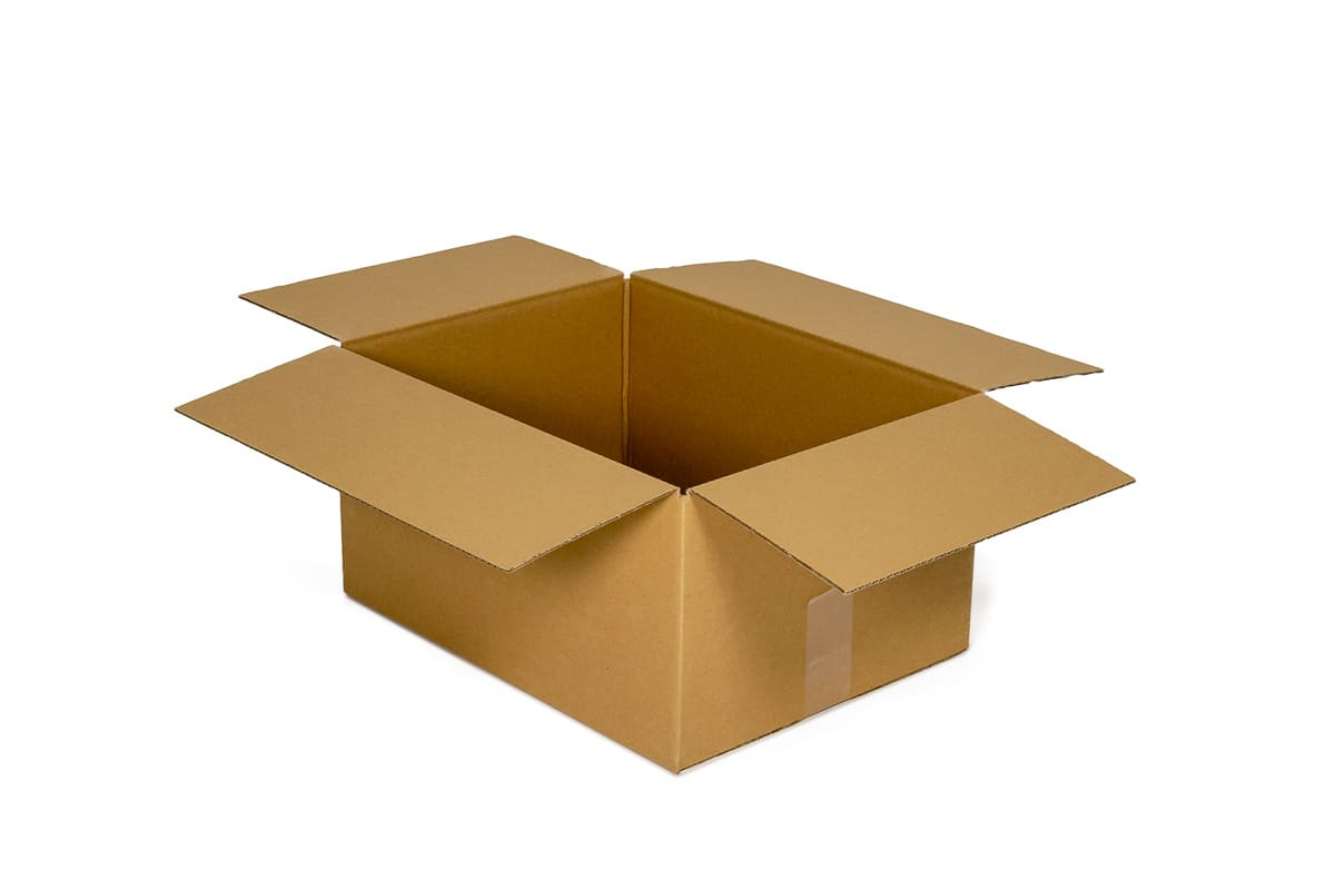 Kartonnen doos - 550 x 350 x 310mm (enkele golf)