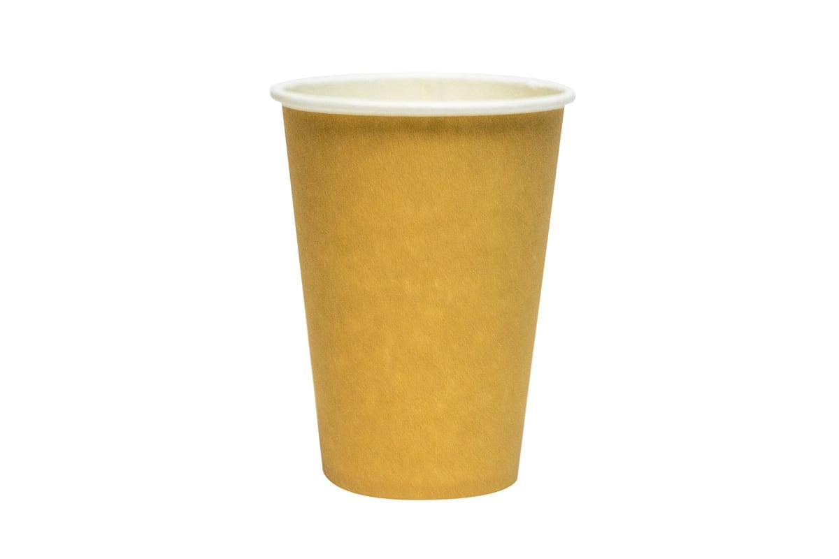 Kartonnen koffiebekers bruin - 180ml (2.000 st)