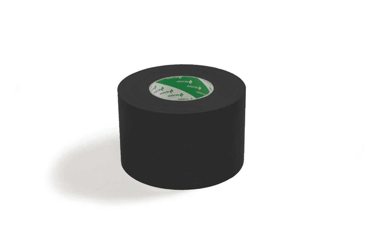 Nichiban® 1200 gaffa tape zwart - 75mm x 50m