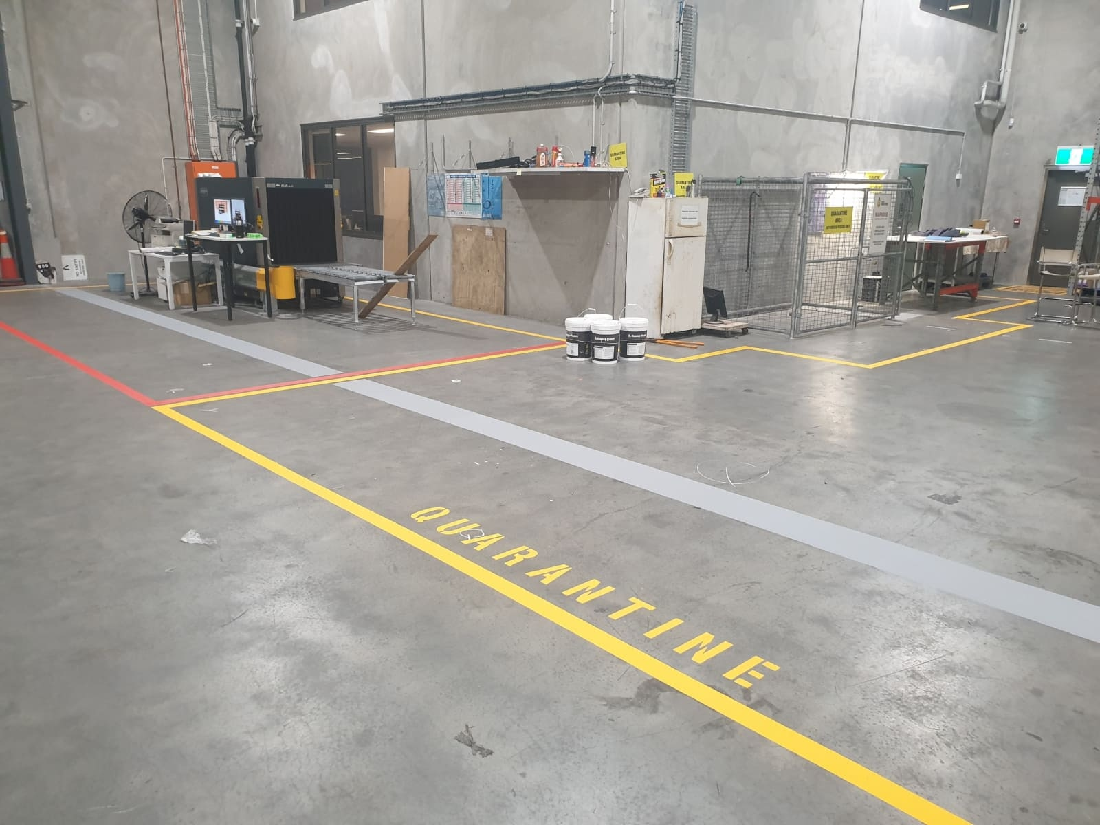 Markeringstape geel - 50mm x 33m