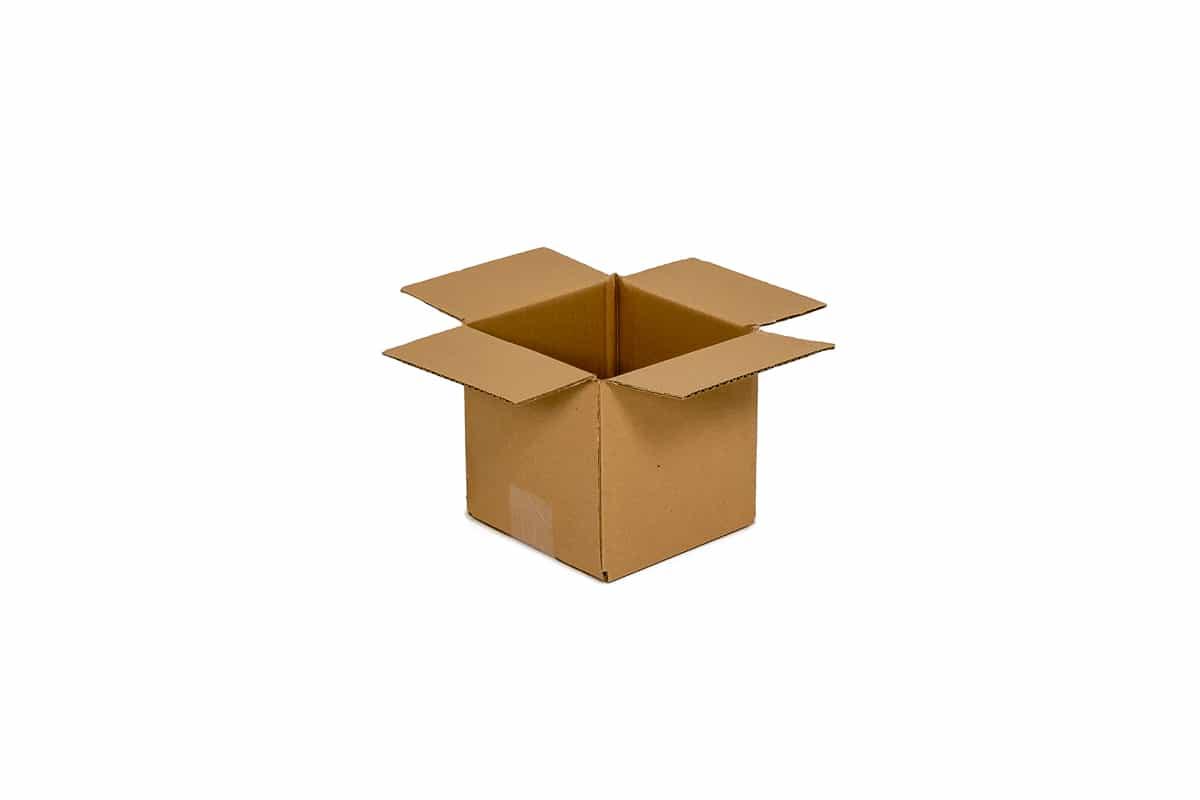 Kartonnen doos - 188 x 188 x 177mm (dubbele golf)
