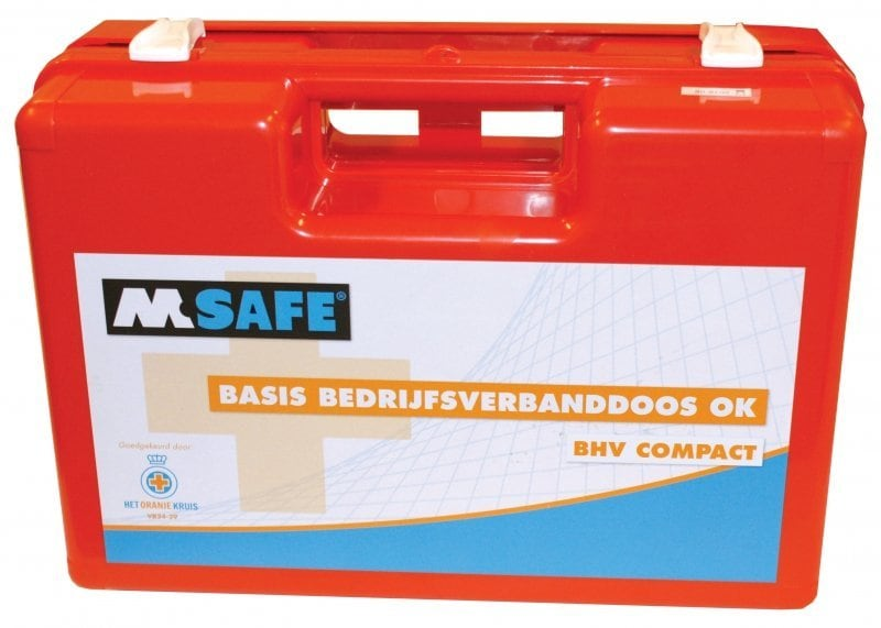 M-Safe bedrijfsverbanddoos BHV compact