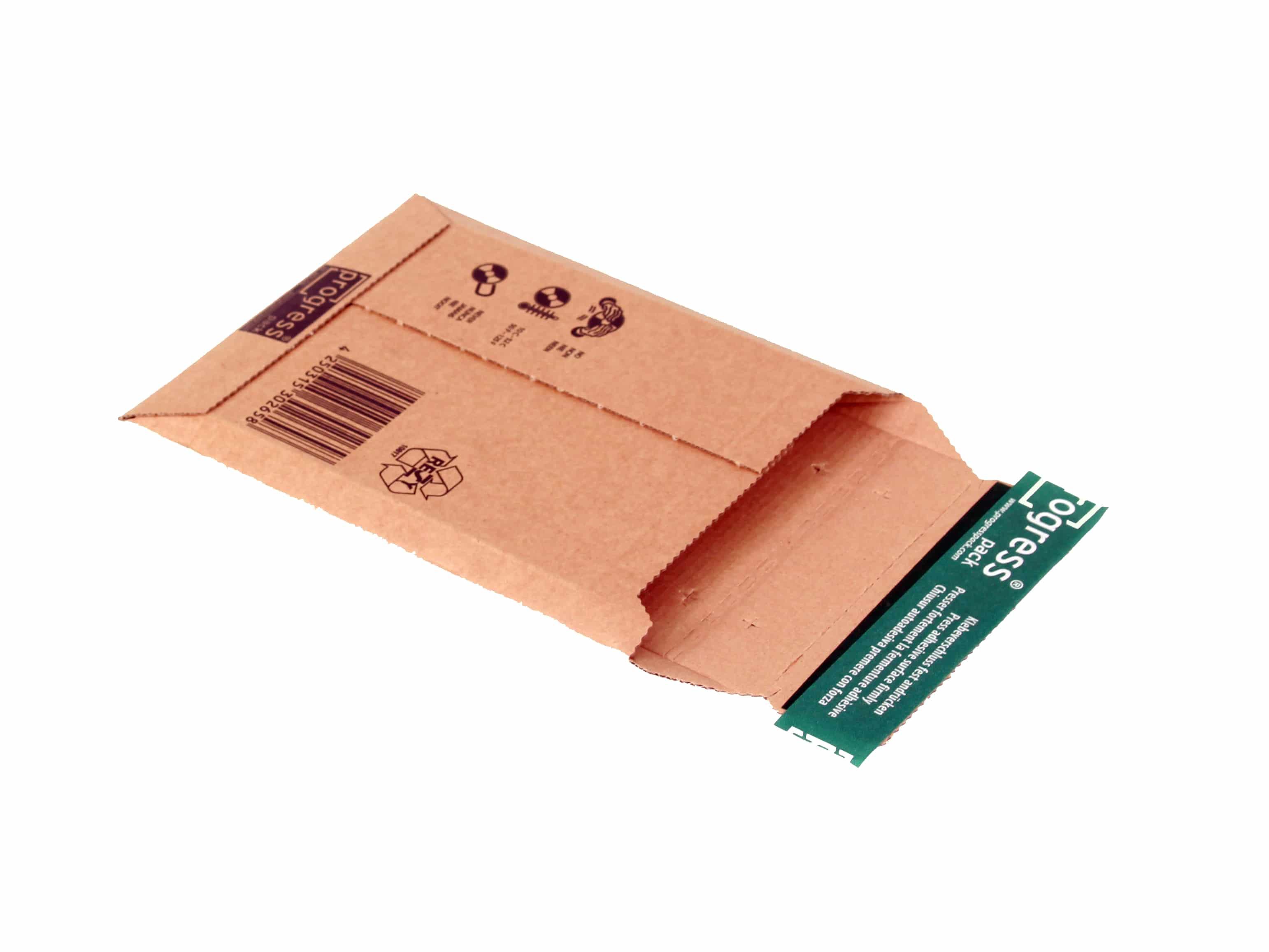 Kartonnen enveloppen CD Premium - 145 x 190 x 0-25mm (100 st)
