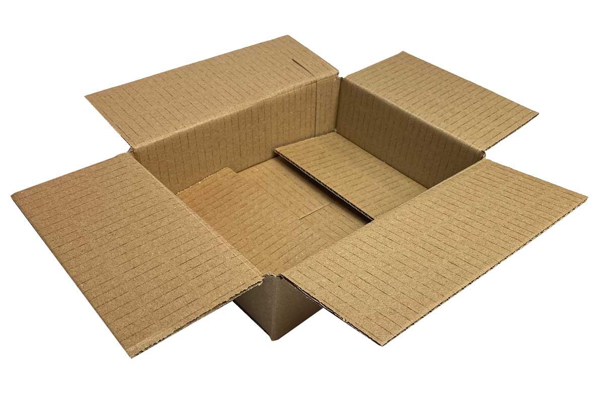 Kartonnen doos - 200 x 150 x 50mm (enkele golf)