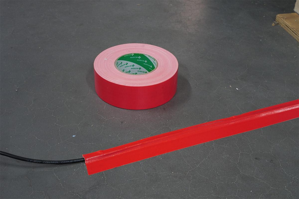 Nichiban® 1200 gaffa tape rood - 50mm x 50m