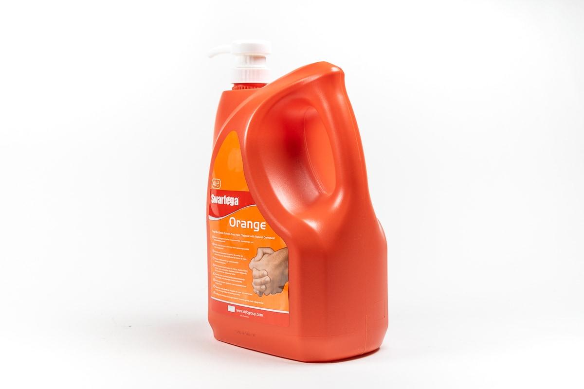 Swarfega Orange pompfles - 4 liter