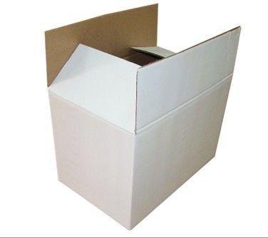 Kartonnen doos wit - 450 x 450 x 725mm (dubbele golf)