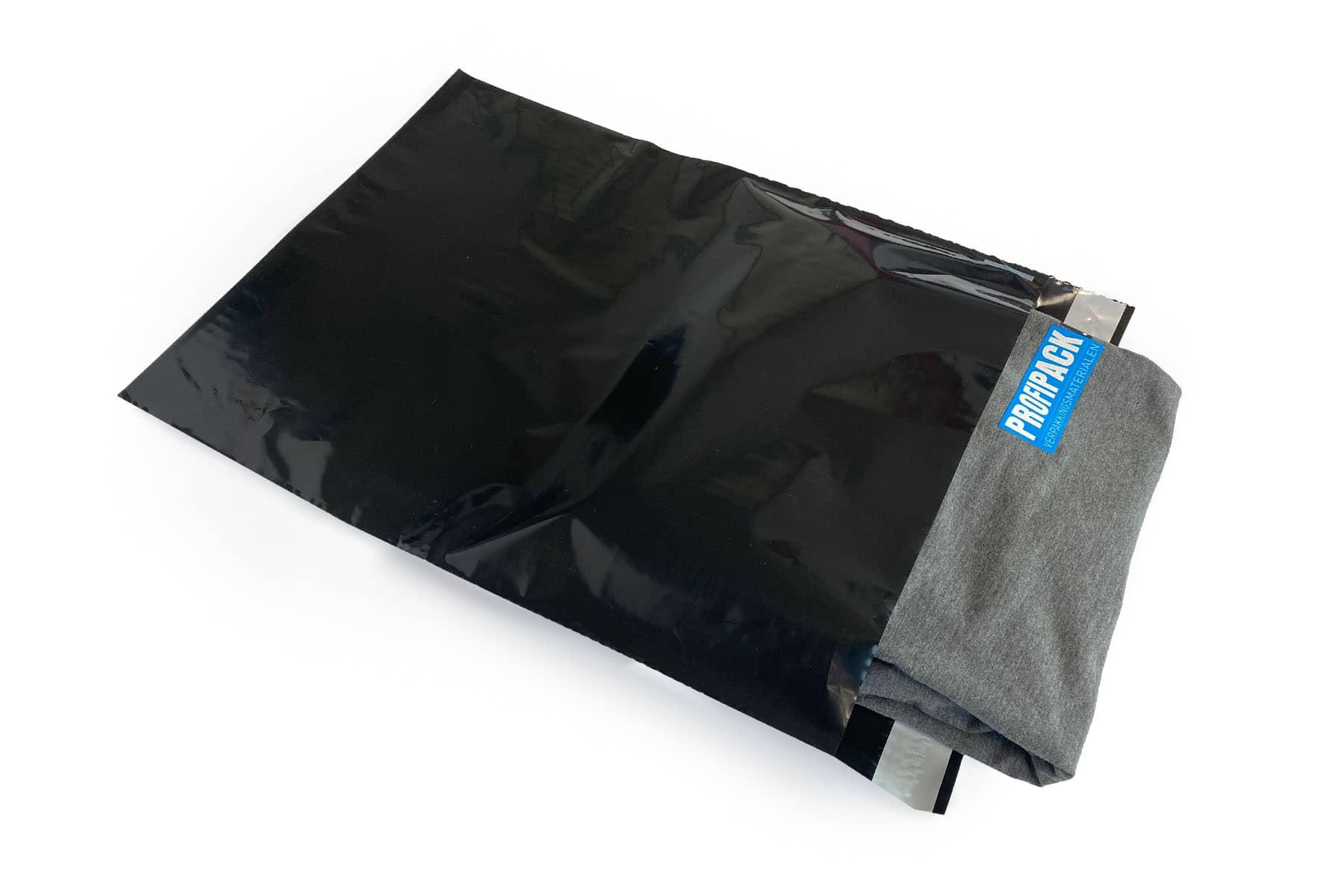 Coex verzendzakken zwart - 510 x 585mm