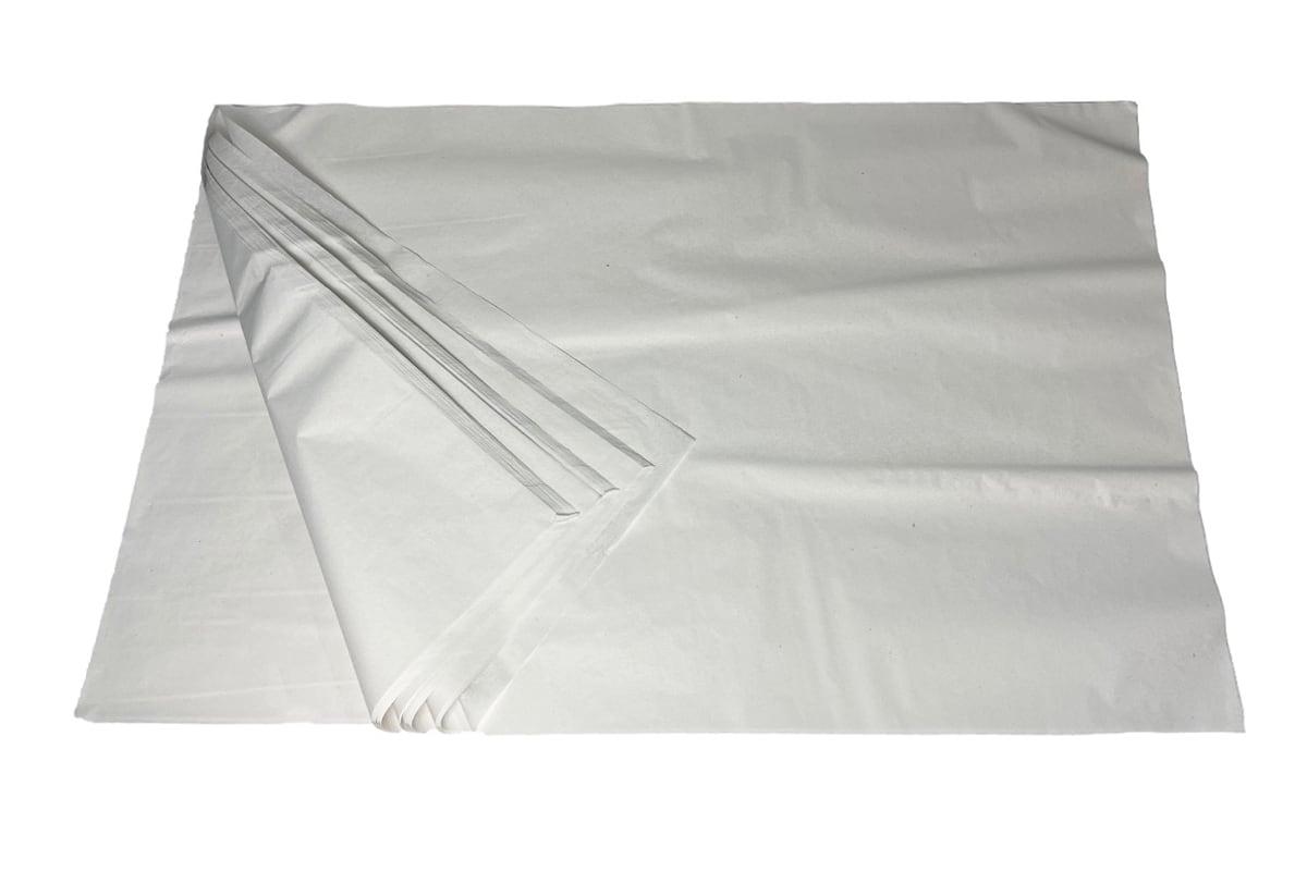 Zijdepapier zuurvrij wit - 750 x 500mm x 24g/m²