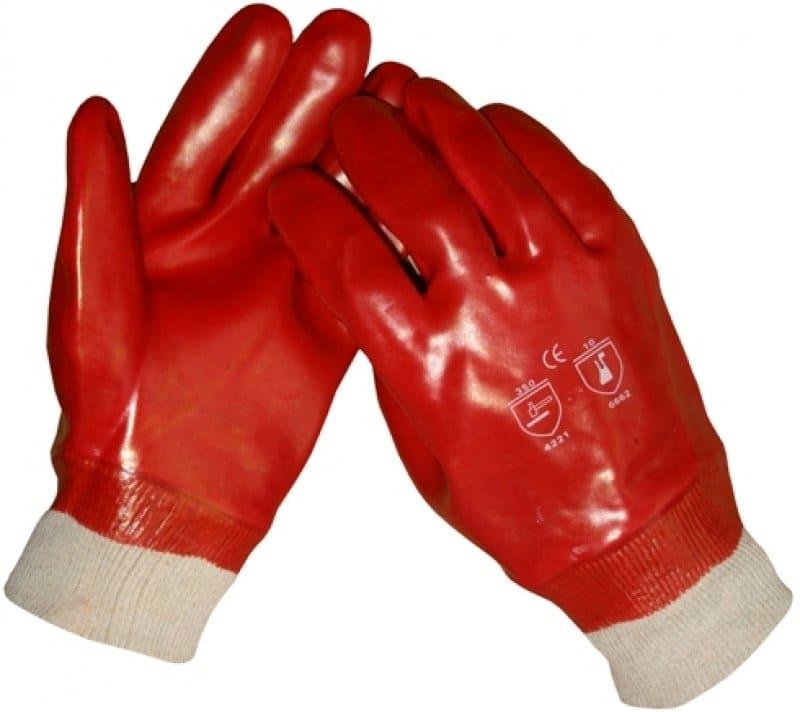 PVC volledig gecoat werkhandschoenen