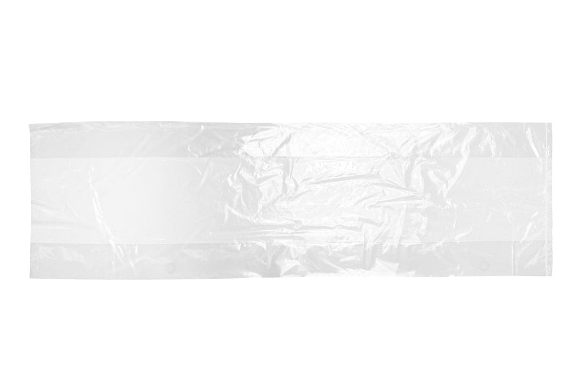 LDPE zijvouwzakken - 11 x 4,5 x 30cm x 70my (1.000 st)