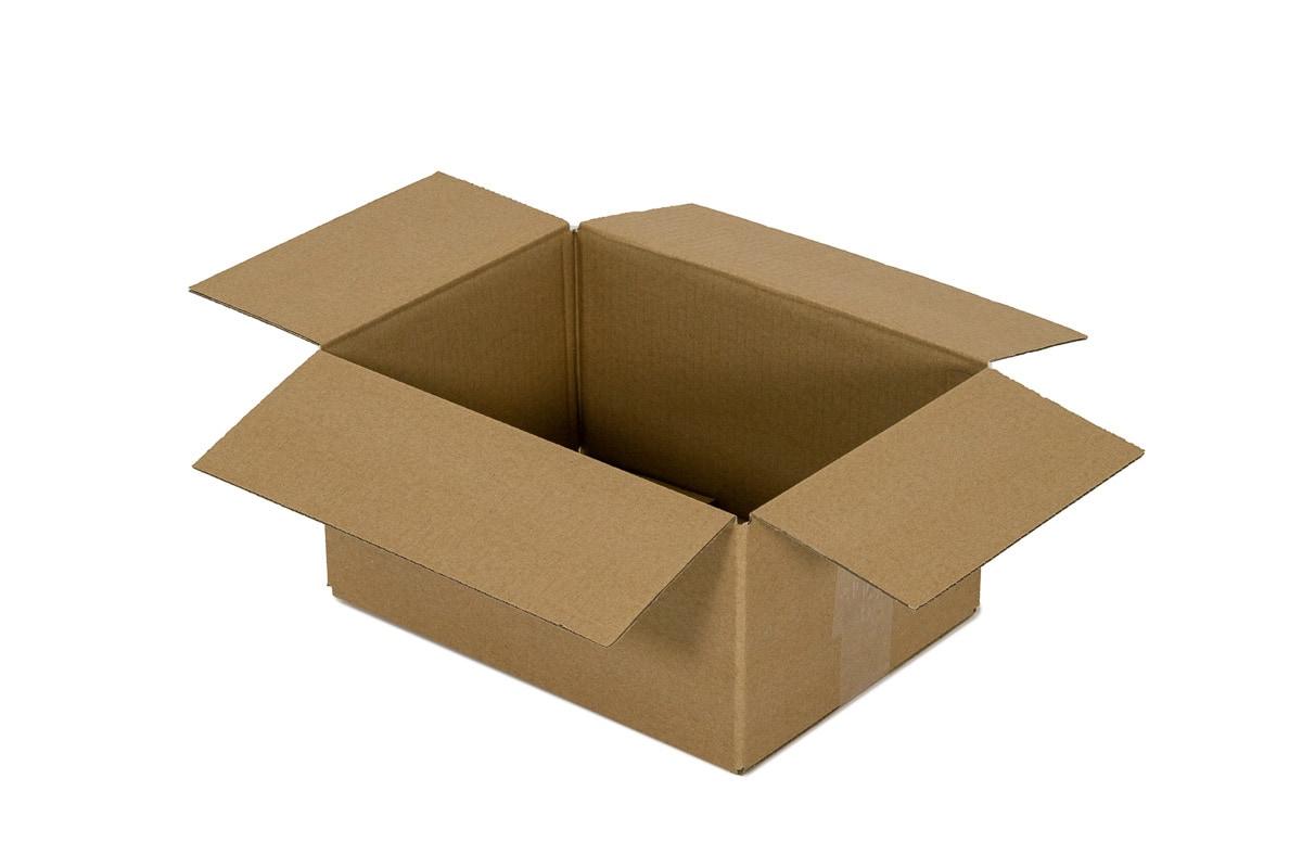 Kartonnen doos - 305 x 220 x 165mm (enkele golf)