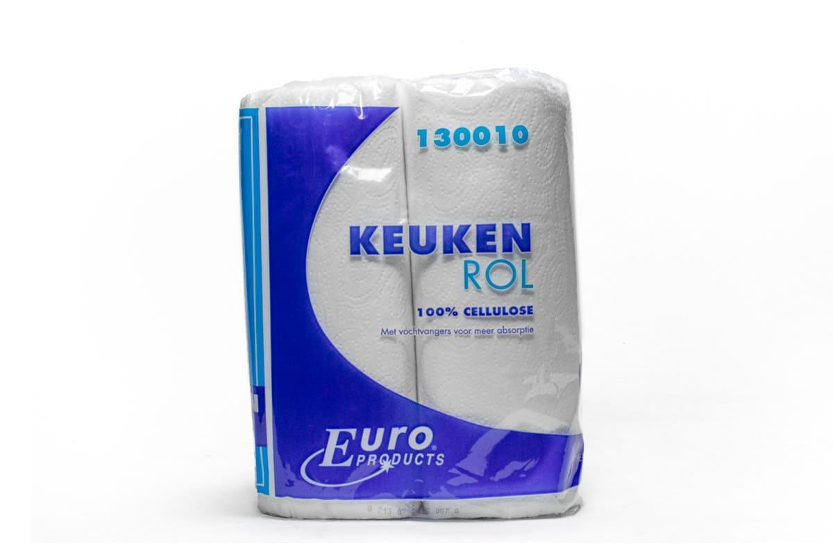 Keukenpapier cellulose 2-laags (2 rol)