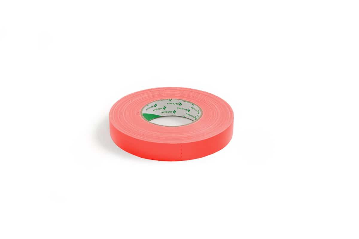 Nichiban® 1200 gaffa tape rood - 19mm x 50m
