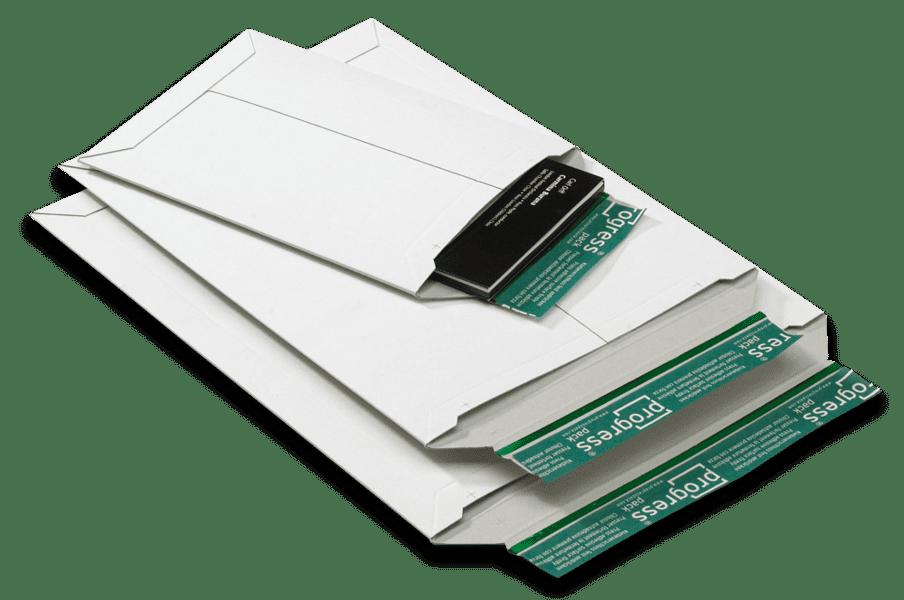 Massief kartonnen enveloppen wit A4 - 235 x 308 x 0-30mm (100st)