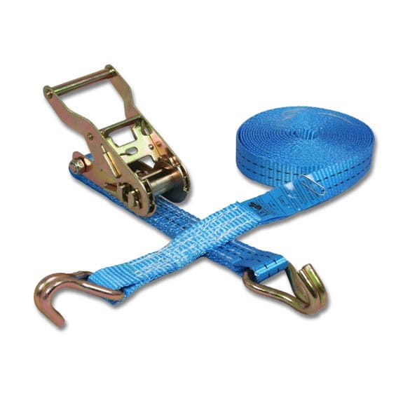Spanband 2-delig blauw - 25mm x 5m (1,5 ton)