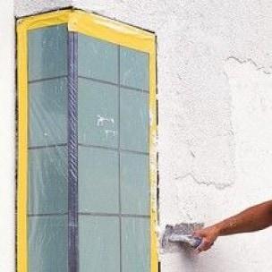 Beton tape geel - 50mm x 33m