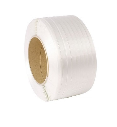 Polyester composietband wit - 34mm x 300m