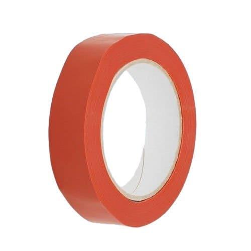 Strapping tape oranje - 25mm x 66m (72 st)