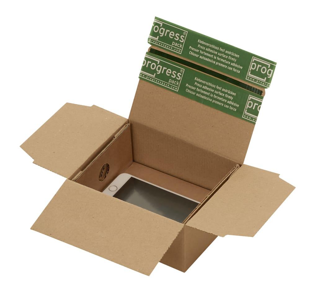 Speedbox retour dozen + fixeertray - 160 x 130 x 70mm (20 st)