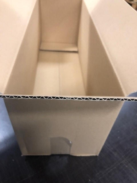 Kartonnen doos - 820 x 270 x 270mm (enkele golf)